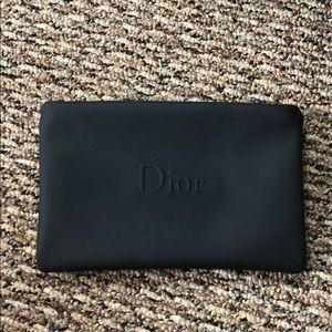 Dior Bags - Small Black Dior Pouch